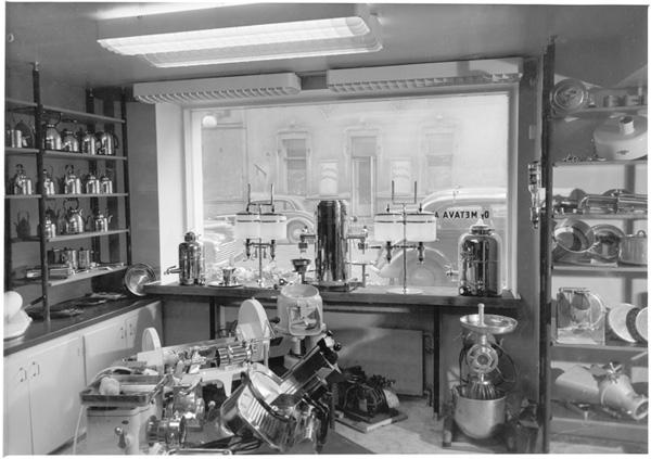 Yrjönkadun näyttely 1956